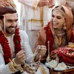दीपवीर ने अपनी शादी के लम्हे सोशल मीडिया पर किए साँझा